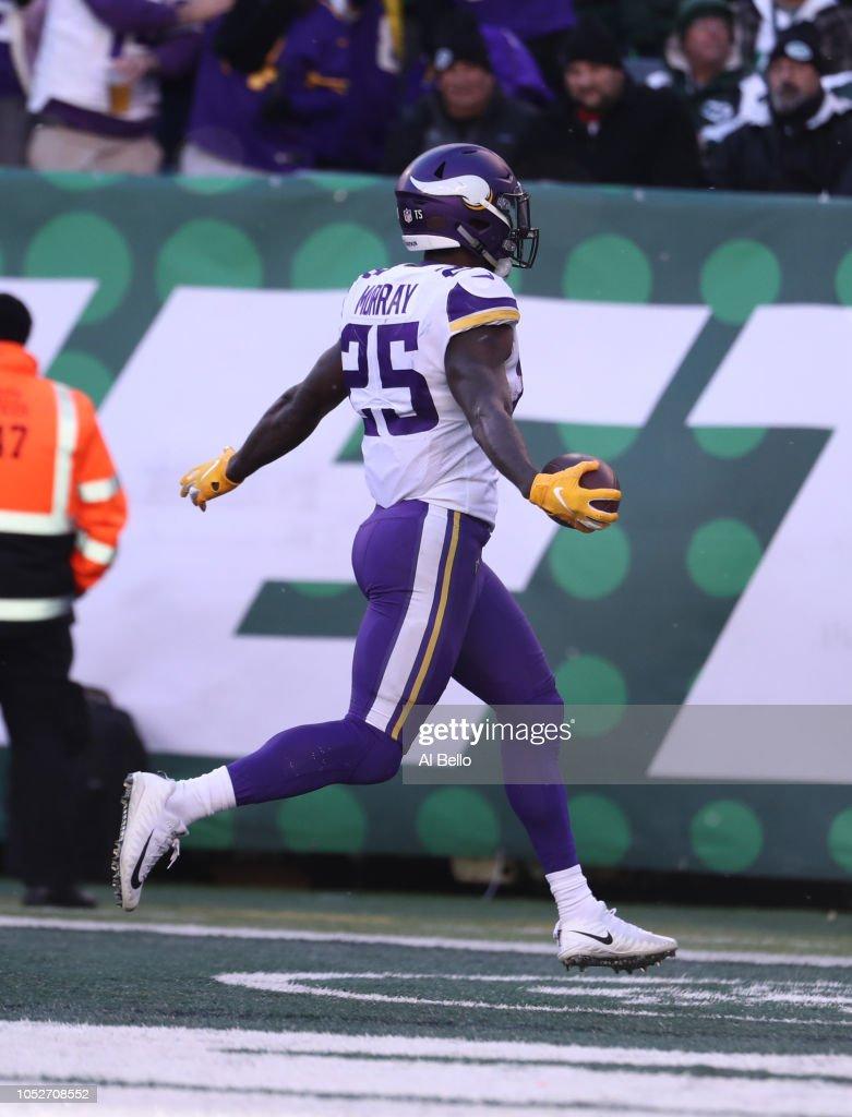 Minnesota Vikings v New York Jets : Fotografia de notícias