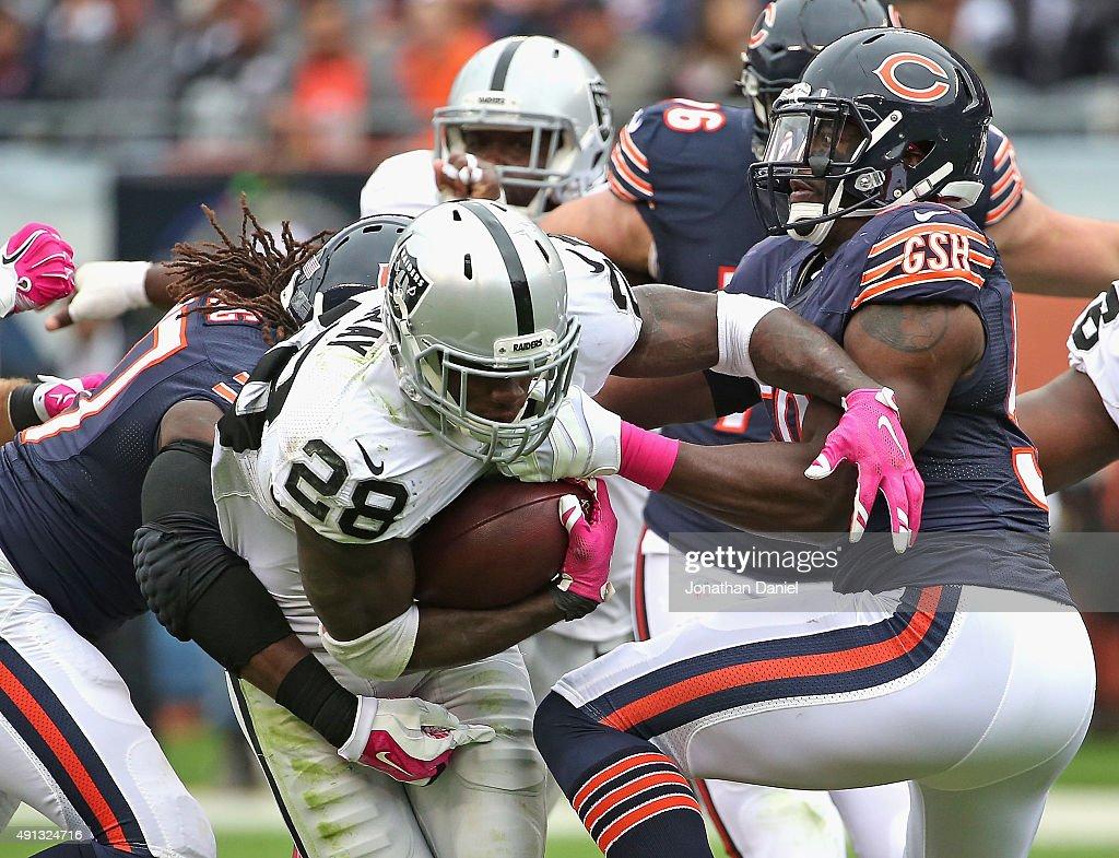 Oakland Raiders v Chicago Bears : Fotografía de noticias