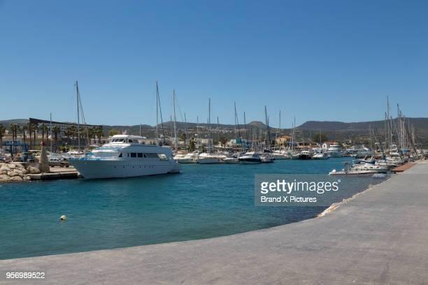 latchi port on cyprus - latchi ストックフォトと画像