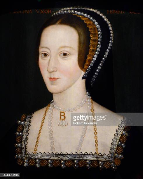 A late 16th century portrait of Anne Boleyn by an unknown artist on display at the National Portrait Gallery in London England Anne Boleyn was the...
