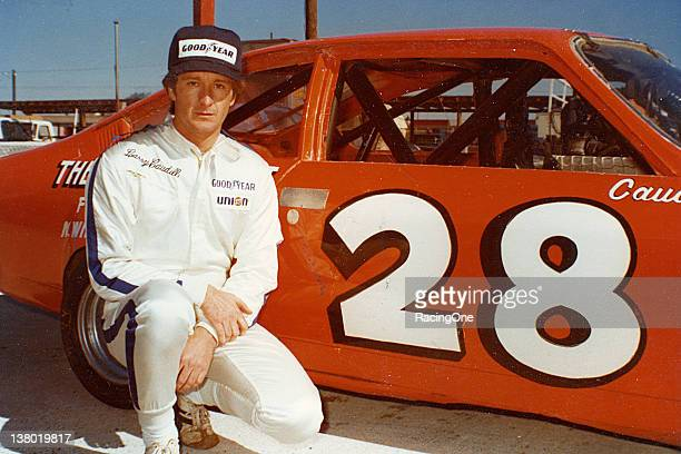 Larry Caudill with his car before a late 1970s NASCAR Baby Grand race at North Wilkesboro Speedway Caudill won both events contested at North...