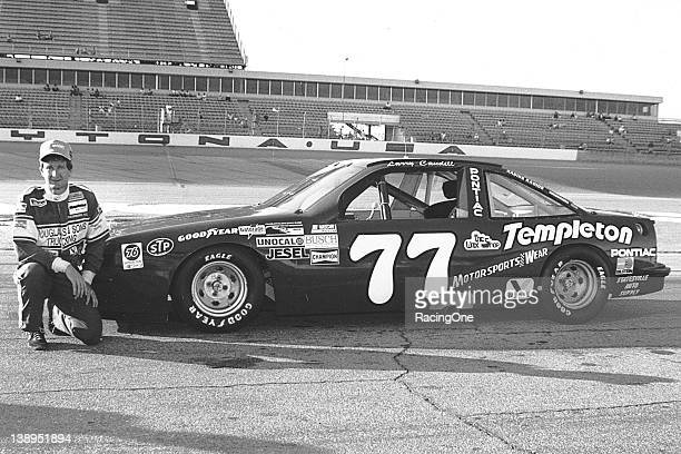 Larry Caudill with his Pontiac NASCAR Dash series car at Daytona International Speedway The North Wilkesboro NC native was the NASCAR Dash Series...