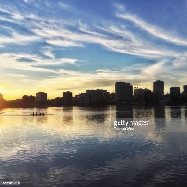 Late Afternoon at Lake Merritt