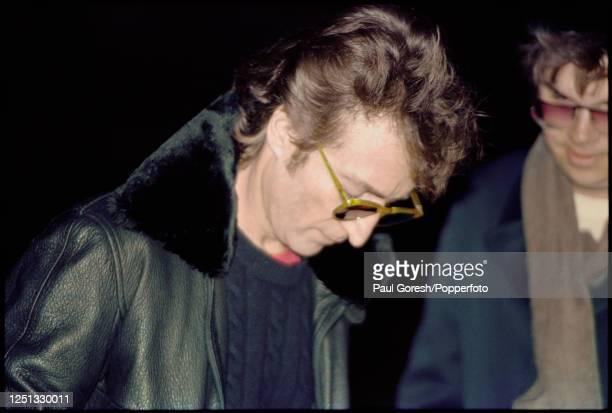 NY: 8th December 1980 - John Lennon Shot Dead