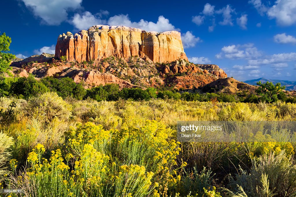Late Day at Ghost Ranch : Stock Photo