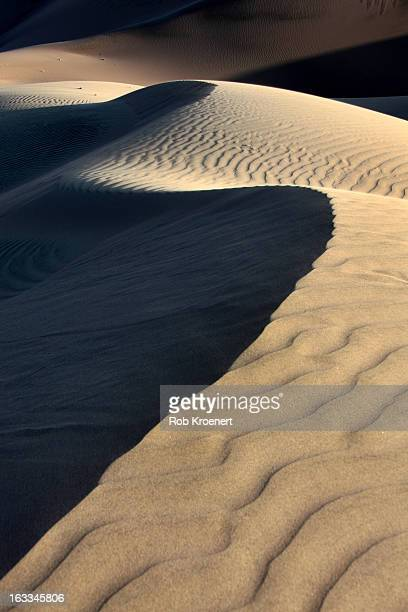 Late Light on Huacachina Dunes