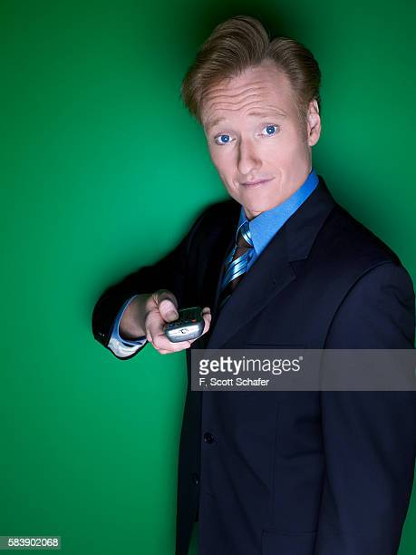 Late night host Conan O'Brien is photographed in 2005 PUBLISHED IMAGE