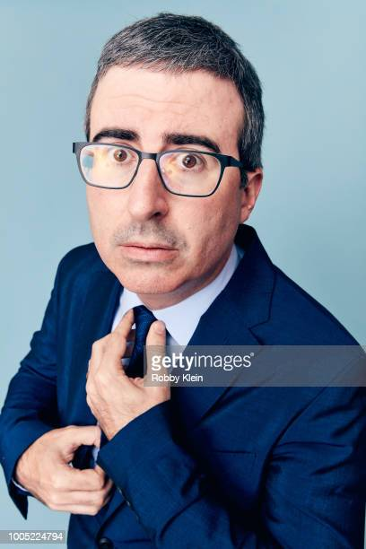 Late Night host John Oliver of HBO's 'Last Week Tonight with John Oliver' poses for a portrait during the 2018 Summer Television Critics Association...