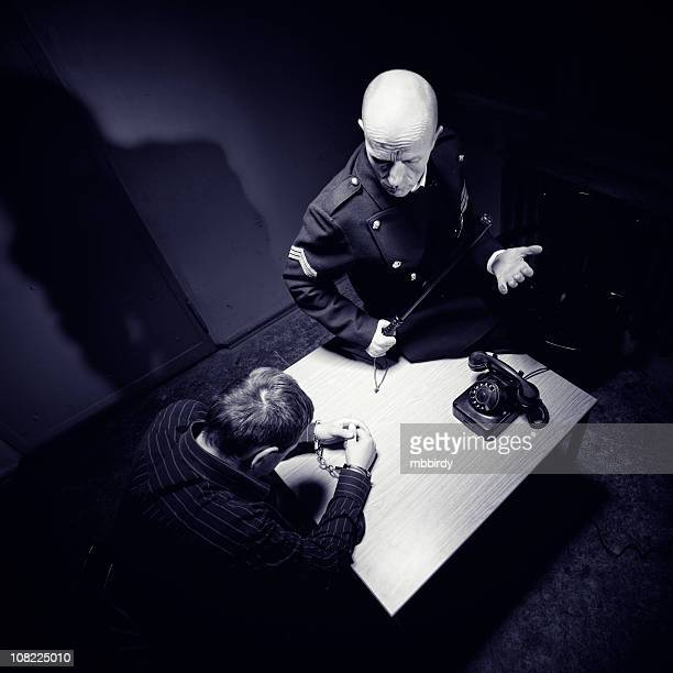 Late night interrogation