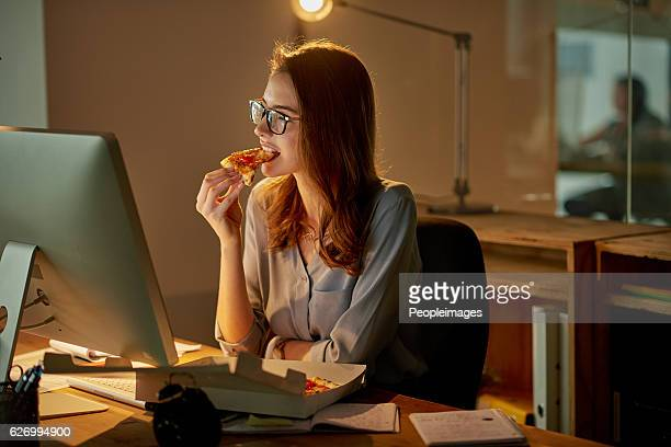Late night meals in the office