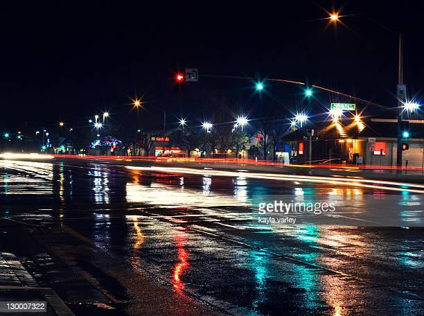 Late night rain