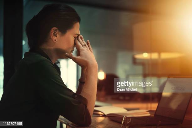 late nights are some of the most stressful - headache stock pictures, royalty-free photos & images