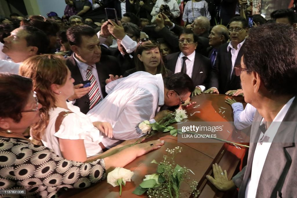 PERU-GARCIA-DEATH-FUNERAL : News Photo