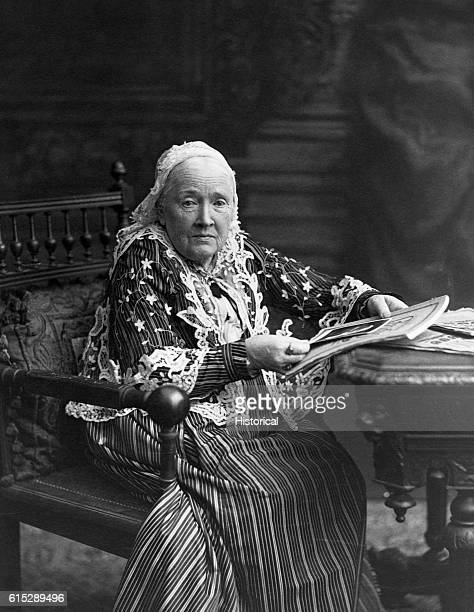 A late portrait of Julia Ward Howe who fought tirelessly for woman suffrage and the abolition of slavery She was also a prolific writer both as an...