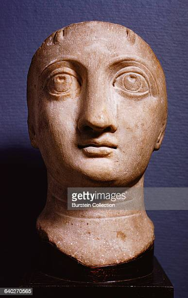 Late Roman Portrait Head Possibly of Empress Ariadne