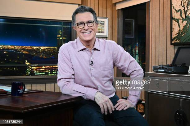 Late Show with Stephen Colbert during Fridays March 12, 2021 Show.