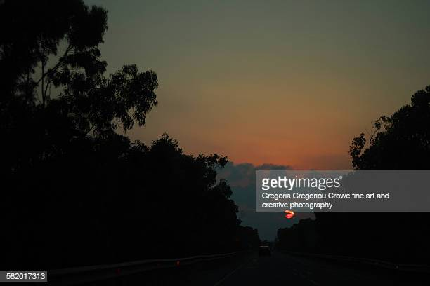 late sunset - gregoria gregoriou crowe fine art and creative photography - fotografias e filmes do acervo