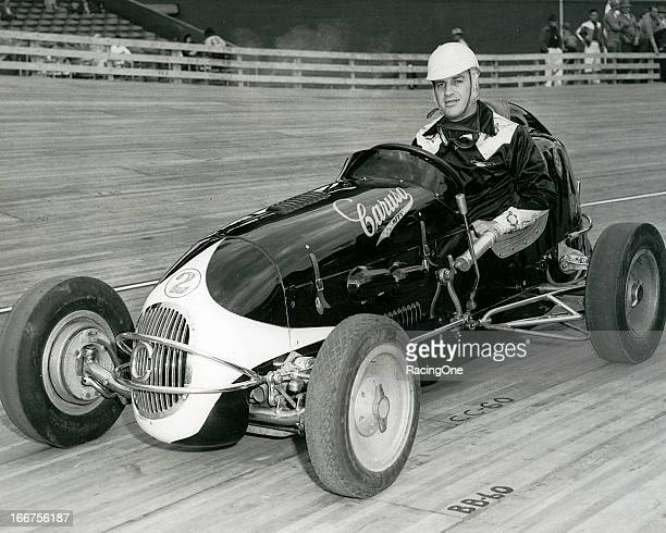 "Bill Schindler of Middletown NY drove Mike Caruso's Offenhauserpowered ""Black Deuce"" Midget to the 1948 American Racing Drivers Club championship"
