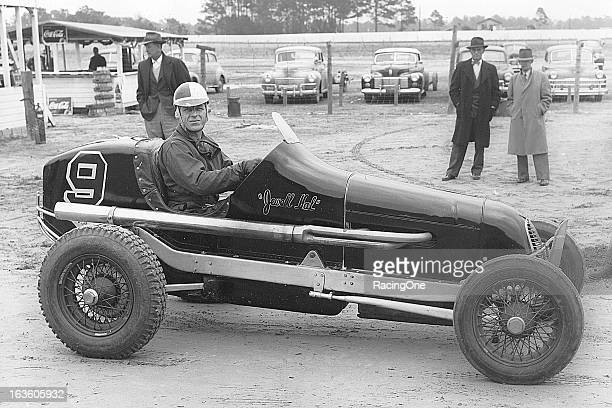 Frank Luptow who raced out of both Detroit MI and Tampa FL is shown aboard one of his top rides during his career the Black Lawrence Jewell HAL...