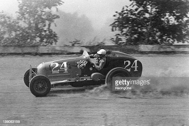 """George Rice """"Joie"""" Chitwood Sr excelled on the dirt tracks from the late1930s through the early1950s especially in Sprint Cars Chitwood won well over..."""