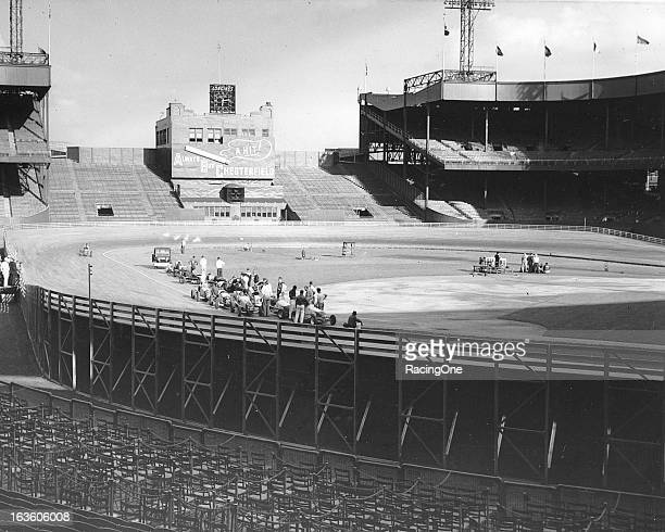 The Polo Grounds in Upper Manhattan was home of the New York Giants baseball and football teams During the summer months while the Giants baseball...