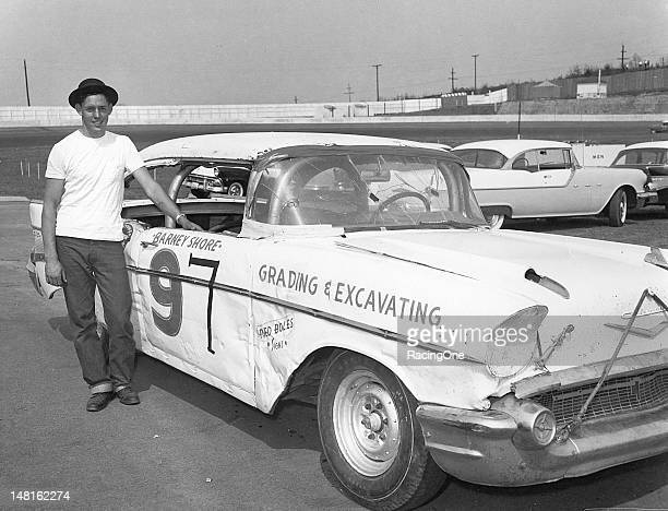 Barney Shore of Lewisville NC ran this 1957 Chevrolet in 17 NASCAR Cup races between 1958 and 1959 scoring five top 10 finishes