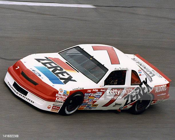 Driving his own Zerexsponsored Ford Thunderbirds on the NASCAR Cup circuit between 1987 and 1990 Alan Kulwicki scored a pair of victories and 40 top...