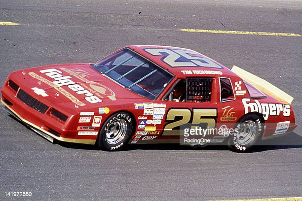 Driving the Folgers Coffee Chevrolet for car owner Rick Hendrick Tim Richmond ran the final NASCAR Cup races of his career in 1986 and 1987 Richmond...