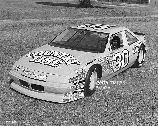 Michael Waltrip drove Pontiacs for car owner Chuck Rider with sponsorship from Country Time Lemonade on the NASCAR Cup circuit from 1988 through 1990...