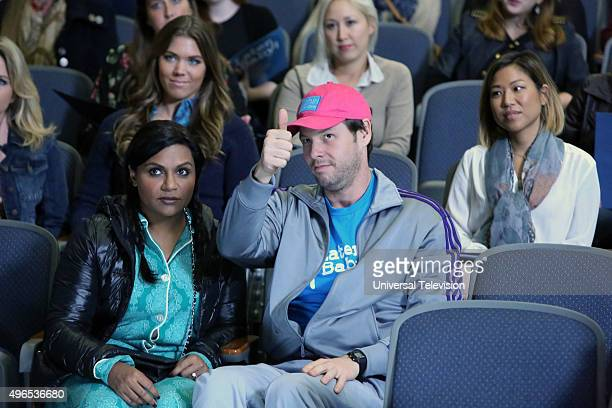 PROJECT 'Later Baby' Episode 408 Pictured Mindy Kaling as Mindy Lahiri Ike Barinholtz as Morgan Tookers