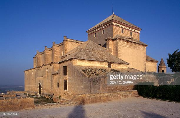 Lateral view of the Collegiate church of Our Lady of the Assumption, 1530-1539, Osuna, Andalusia. Spain, 16th century.