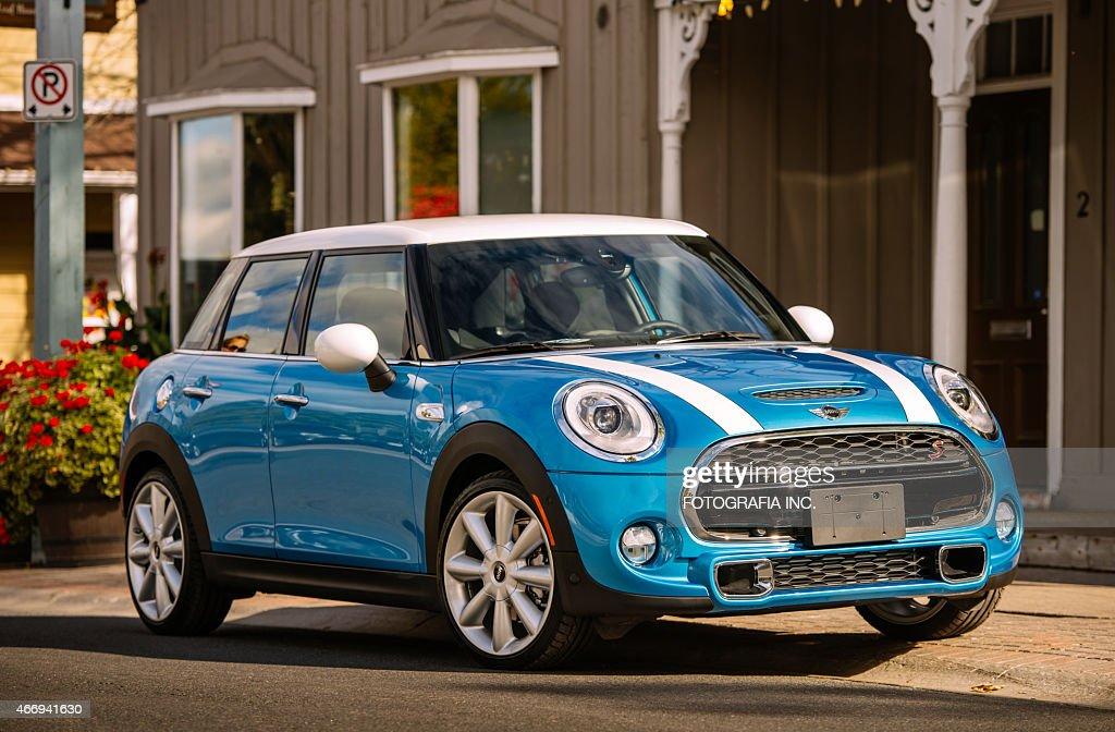Latest Model Mini Cooper Stock Photo