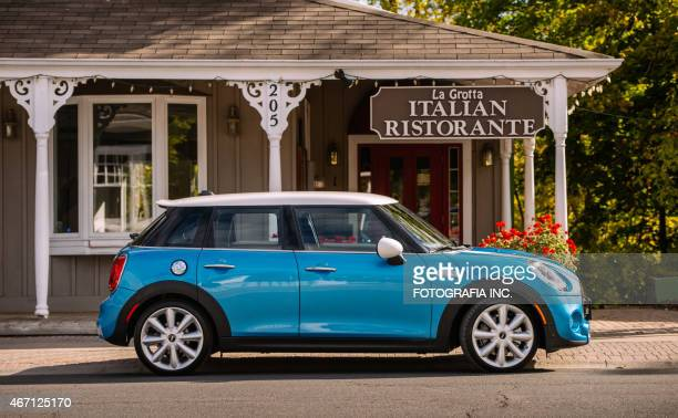 latest model mini cooper - mini cooper stock pictures, royalty-free photos & images