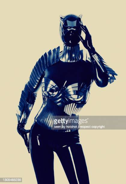 latex robot -2 - bayern stock pictures, royalty-free photos & images