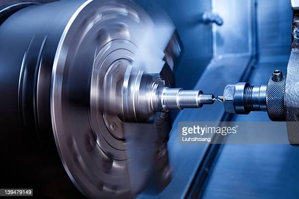 CNC Drehmaschine drilling