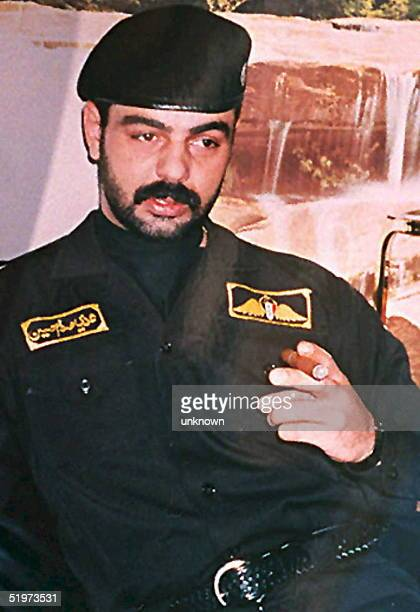 Latif Yehyah alSaleh who says he acted as a double for Saddam Hussein's son Uday for four years before managing to escape Iraq to London is shown in...