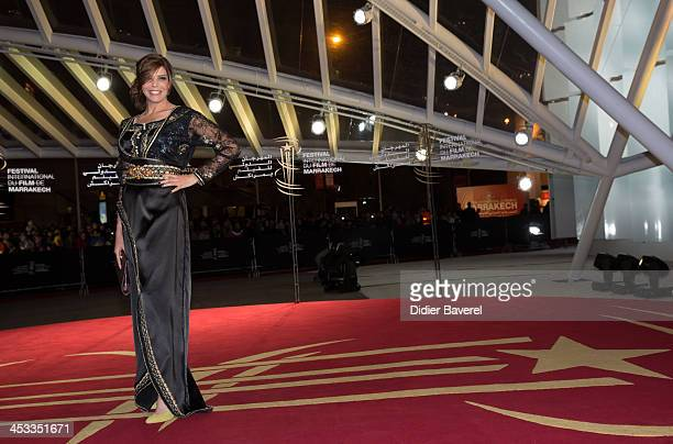 Latifa Ahrar attends the 'Sara' premiere at the 13th Marrakech International Film Festival on December 3, 2013 in Marrakech, Morocco.