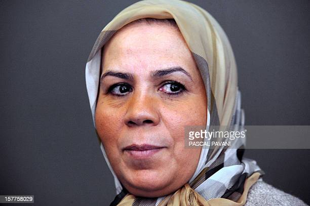 Latifa Ibn Ziaten the mother of Imad Ibn Ziaten one of the victims of Islamist gunman Mohamed Merah who shot seven people dead in Toulouse in March...