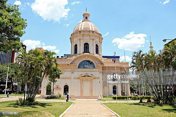 latin american cityscapes - asuncion stock photos and pictures