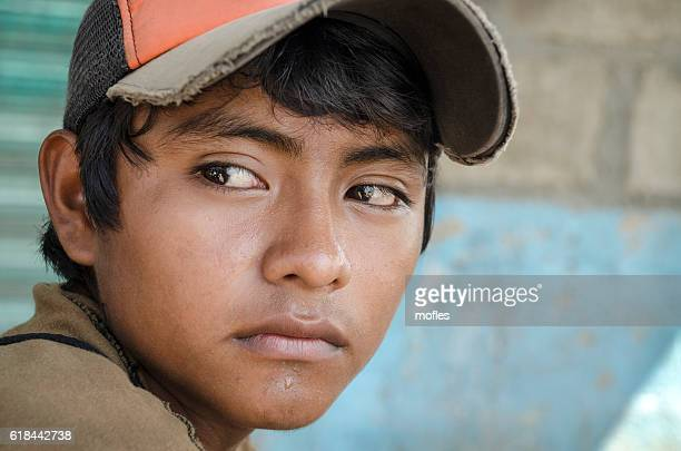 Latin American teen