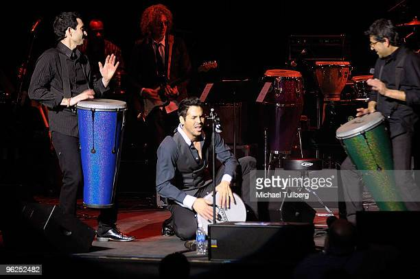 """Latin GRAMMY Award-winning singer Jorge Moreno performs at the GRAMMY Foundation's 12th Annual Music Preservation Project """"Cue The Music: A..."""