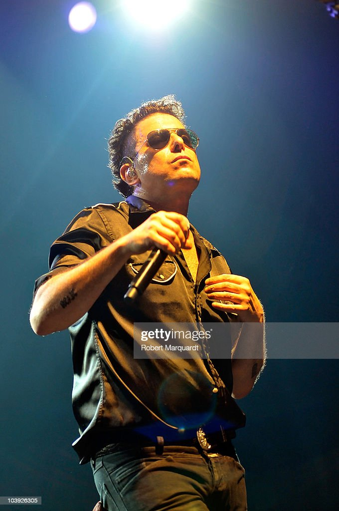 Andres Calamaro Performs in Concert in Barcelona