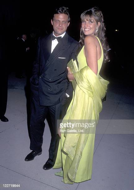 Latin Singer Luis Miguel and Actress Daisy Fuentes attend the Third Annual Vanity Fair Oscar Party on March 25 1996 at Morton's Restaurant in West...