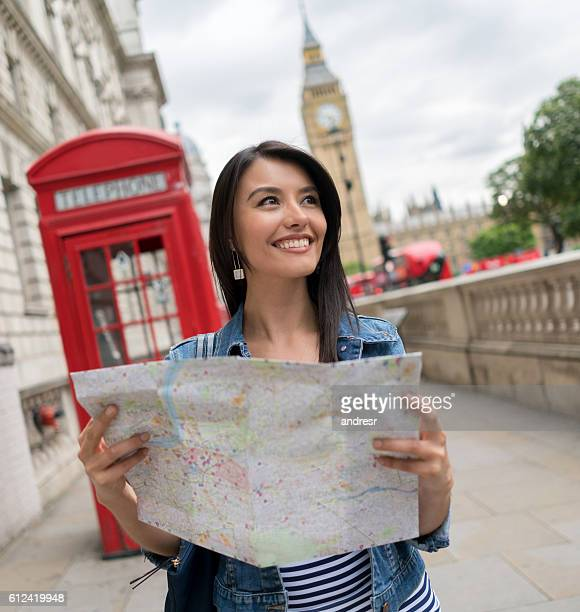 Latin tourist in London
