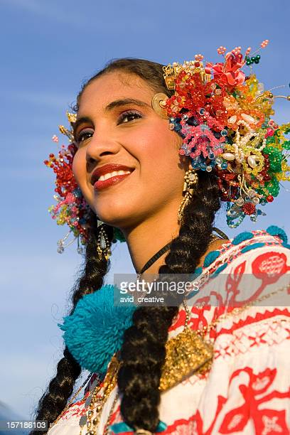 latino dancer portrait - folk music stock pictures, royalty-free photos & images