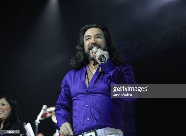 Latino singer Marco Antonio Solis performs at HP Pavilion on September 17, 2011 in San Jose, California.