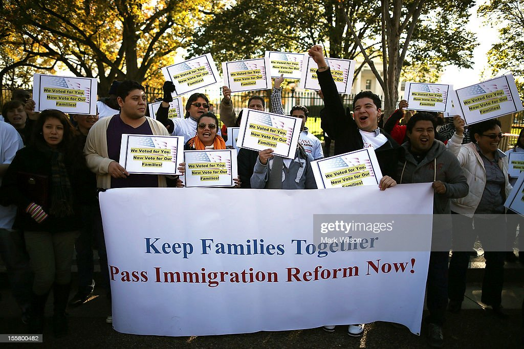 Activists Rally For Comprehensive Immigration Reform In Washington : News Photo