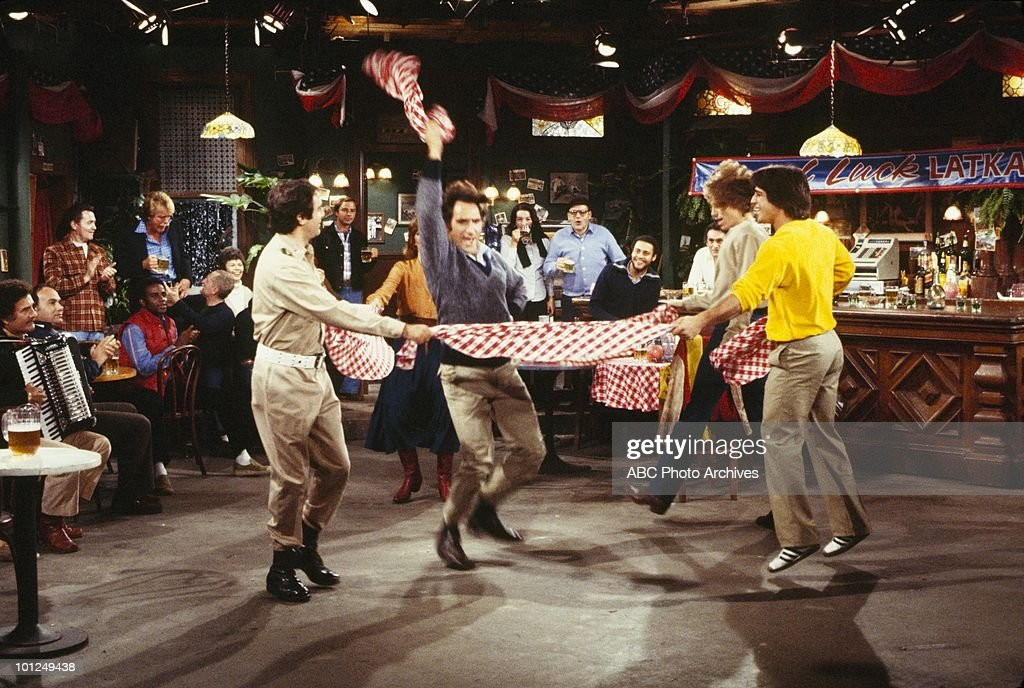 TAXI - 'Latka's Revolting' - Airdate November 27, 1979. (Photo by ABC Photo Archives/ABC via Getty Images) ANDY