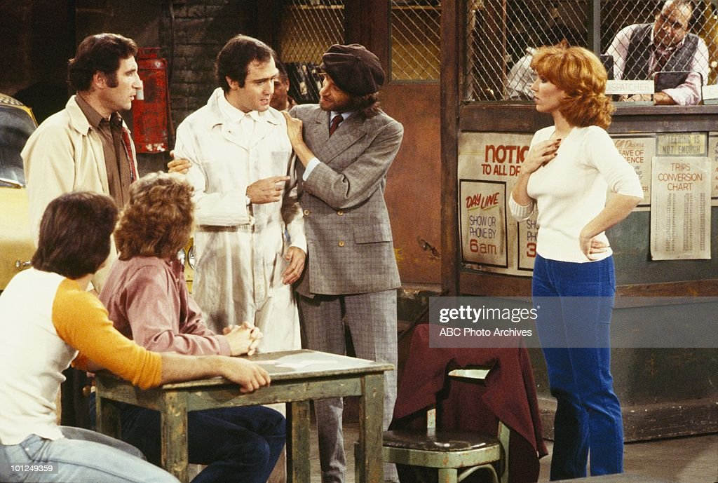TAXI - 'Latka's Revolting' - Airdate November 27, 1979. (Photo by ABC Photo Archives/ABC via Getty Images) TONY