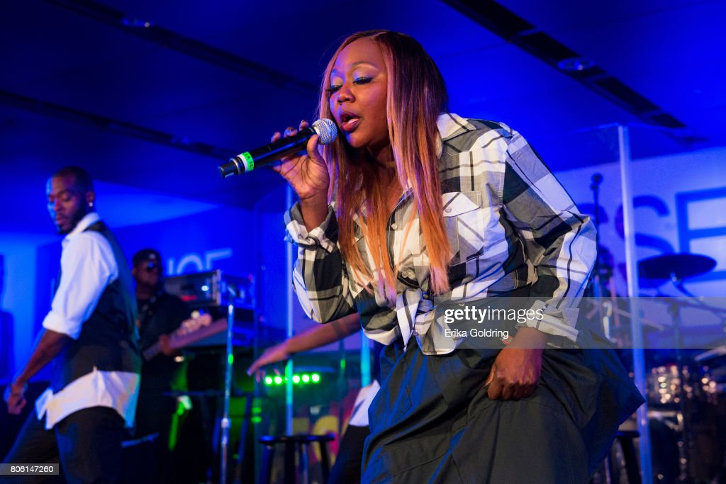 LaTocha Scott of Xscape performs onstage at the 2017 ESSENCE Festival Presented By Coca Cola at the Mercedes-Benz Superdome on July 2, 2017 in New Orleans, Louisiana.